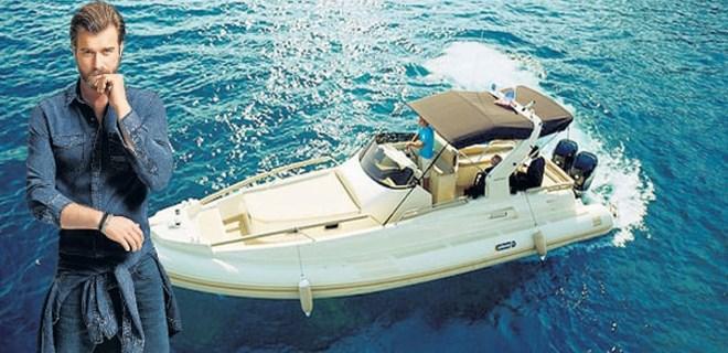 Kıvanç Tatlıtuğ 110 bin euro'ya tekne aldı