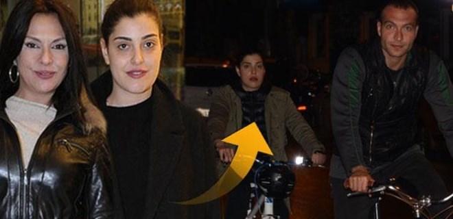 Aydan Şener'in kızı 'amcasının oğluyla' görüntülendi!