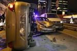 İstanbul'da feci trafik kazaları