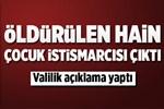 Öldürülen PKK'lı terörist cinsel istismarcı çıktı!