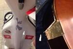 Müzik öğrencisinin enstrümanına ne oldu?