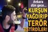 Ankara'da araçlarıyla yol kesen şehir magandaları, silahlarını ardı ardına patlatarak terör...