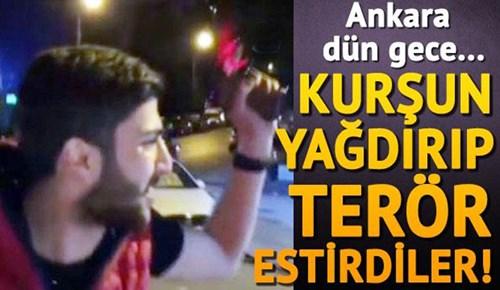 Ankara'da maganda dehşeti yaşandı!