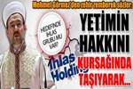 Mehmet Görmez'den zehir zemberek sözler