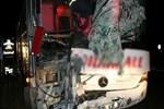 Aynı firmaya ait iki yolcu otobüsü çarpıştı!