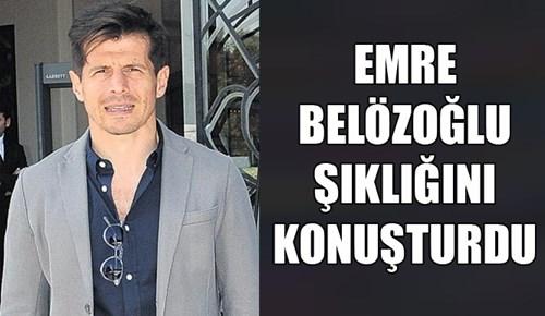Emre Belözoğlu şıklığını konuşturdu