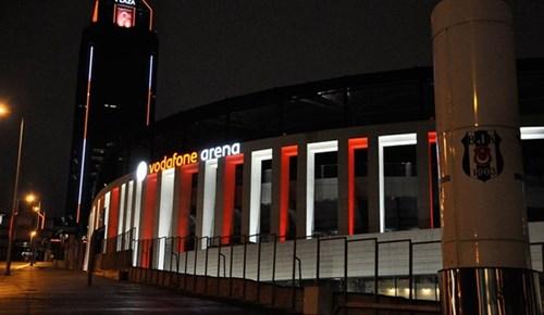 Vodafone Stadında 'üç yıldız' sürprizi!
