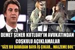 Demet Şener'in avukatından coşkulu açıklamalar