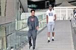 Şampiyon basketçilere yoğun ilgi