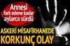 Diyarbakır'ın Lice ilçesi'nde bulunan askeri misafirhanede 8 yaşındaki bir çocuğu kucağına oturtup...