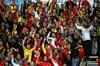 İlk maçta 2-0 yendiği Boluspor'u hakemin kötü yönetimine rağmen Tayfur'un nefis golüyle yenen...