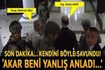 Mehmet Dişli kendini böyle savundu