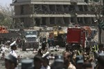 Kabil'de Almanya Büyükelçiliği yanında bombalı saldırı!