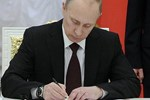 Putin, kararnameyi imzaladı!