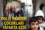 Silopi'de polis panzeri eve çarptı: 2 çocuk öldü!