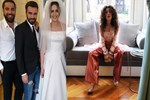 Neslihan Atagül'ün düğün kıyafeti dikkat çekti