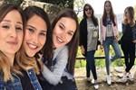 Fahriye Evcen okul arkadaşlarıyla buluştu