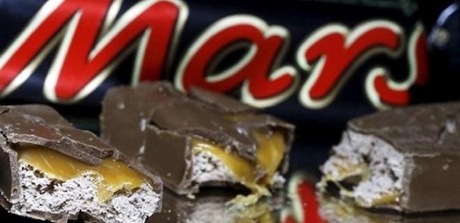 Çikolata devinin ürünlerinde
