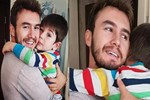 Mustafa Ceceli oğluna koştu!
