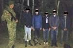 Avrupa'ya girmeye çalışan Türkler ormanda kayboldu