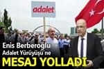 Enis Berberoğlu'ndan adalet yürüyüşüne destek