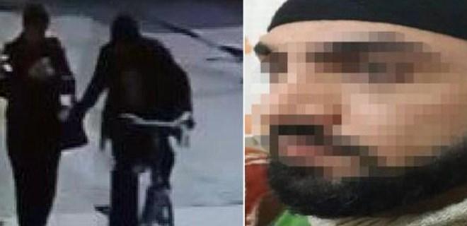 Bisikletli tacizciyi eşi yakalattı!