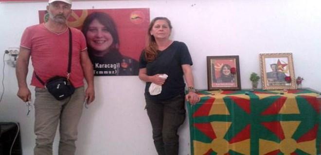 Kırmızı fularlı teröristin ailesi gözaltına alındı