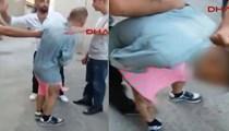 Mahalleli etek giydirip döve döve sokakta dolaştırdı!