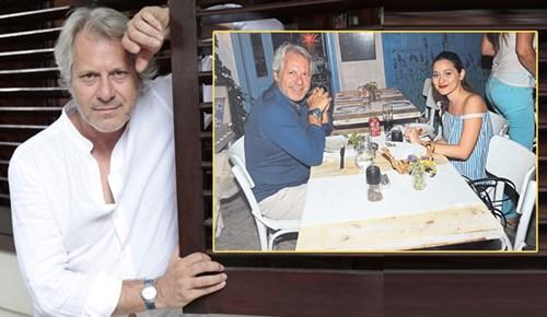 Murat Onuk kızıyla tatilde
