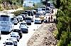 Bayram tatilini erken bitiren vatandaşlar nedeniyle trafik yoğunluğu arttı. Marmara ve Trakya'dan...