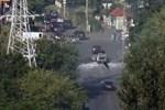 Kiev'de patlama meydana geldi!