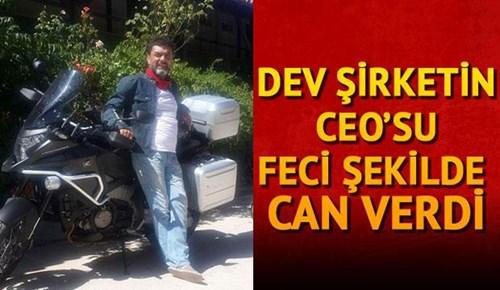 Motosiklet tutkunu CEO çelik bariyerlere çarparak hayatını kaybetti