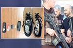 Çete liderine 'cep' ayakkabı!