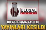 Halk TV ile Ulusal Kanal dahil 20 kanalın yayını kesildi!