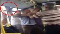 Metrobüste yolcu şoföre silah çekti