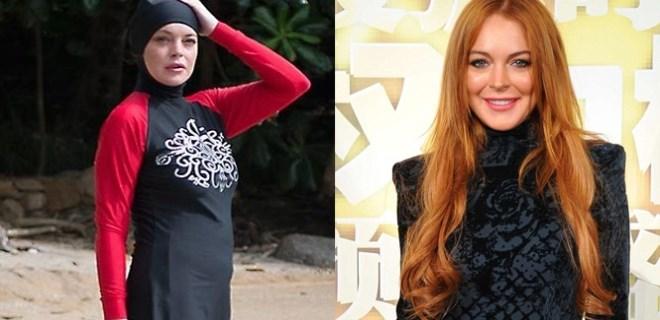 Lindsay Lohan'dan beklenmeyen atak