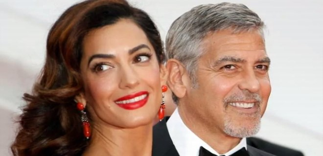 George Clooney'in ikizleri dünyaya geldi!
