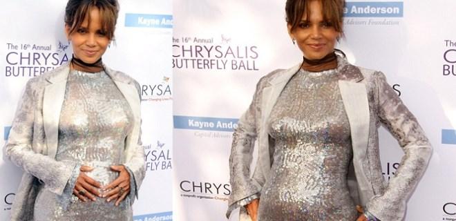 Halle Berry'den hamilelik sorularına esprili yanıt!