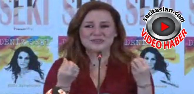 Deniz Seki basın toplantısında ağladı