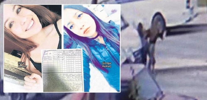 Liseli kızlar o kazada asli kusurlu bulundu!..