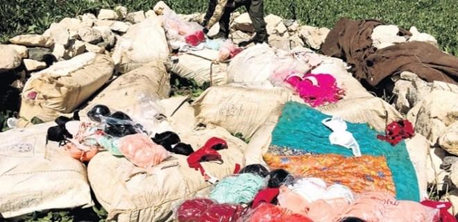 PKK 'kaçak sütyen' işine de girmiş!..