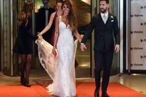 Lionel Messi ve Antonella Roccuzo evlendi!