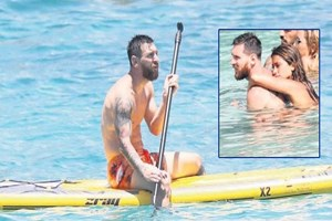 Lionel Messi balayında!