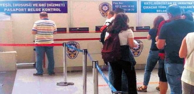 5 bin pasaporta el konuldu