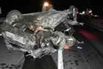 Manisa'da dehşet veren trafik kazası!