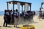 Sarımsaklı Plajı'nda hava destekli operasyon!