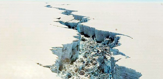 Kıbrıs kadar buzul koptu!