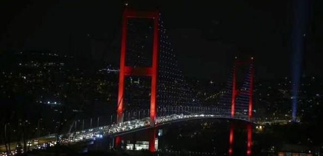 15 Temmuz Şehitler Köprüsü'nün trafiğe kapanış saati değişti