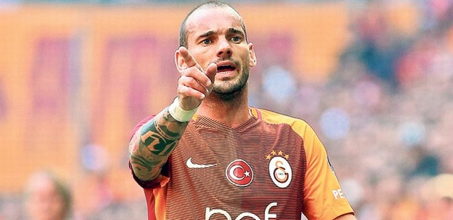 Ve Sneijder gitti!..
