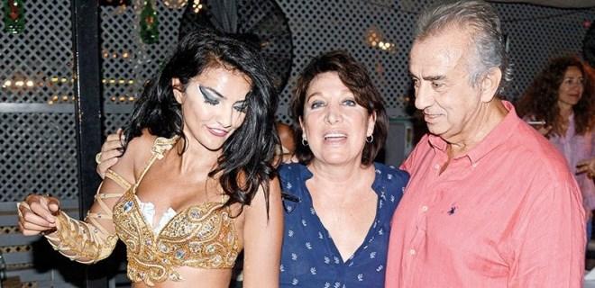 Erhan Yazıcıoğlu 66. yaşına dansözle girdi